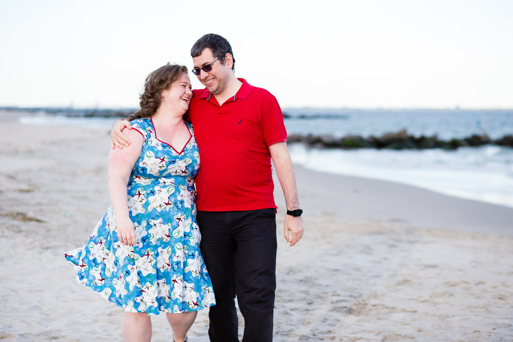 Coney Island Engagement: Brooklyn Wedding Photographer | Sarah Bode-Clark Photography