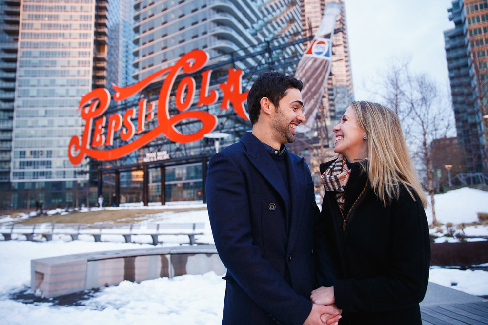 Long Island City Engagement | Sarah Bode-Clark Photography | NYC Wedding Photographers