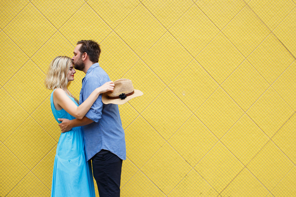 Crown Heights Engagement | Sarah Bode-Clark Photography | NYC Engagement Photographer