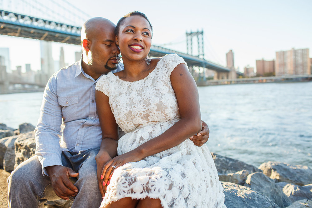 Dumbo Engagement | Sarah Bode-Clark Photography | NYC Engagement Photographer