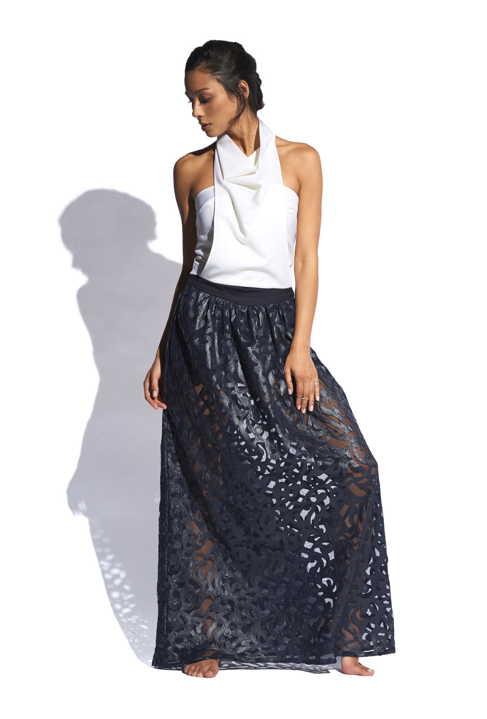 Copy of Bib Top w/ Sycamore Maxi Skirt