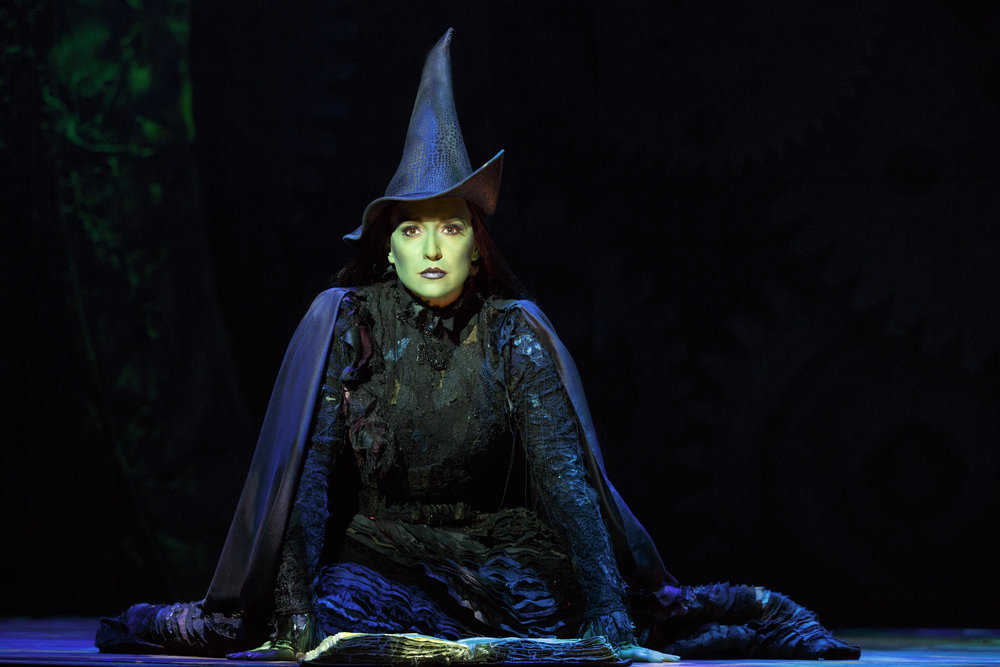 Jessica Vosk as Elphaba. Photo by Joan Marcus..jpg