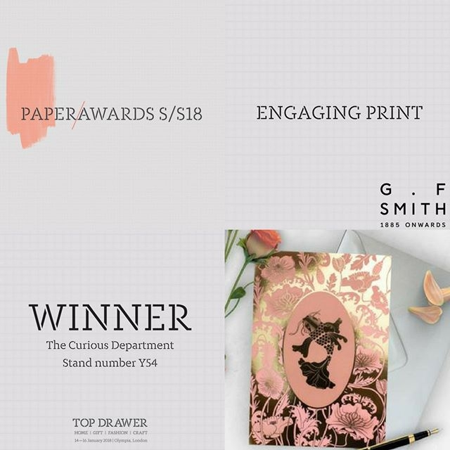 PaperAwards win!