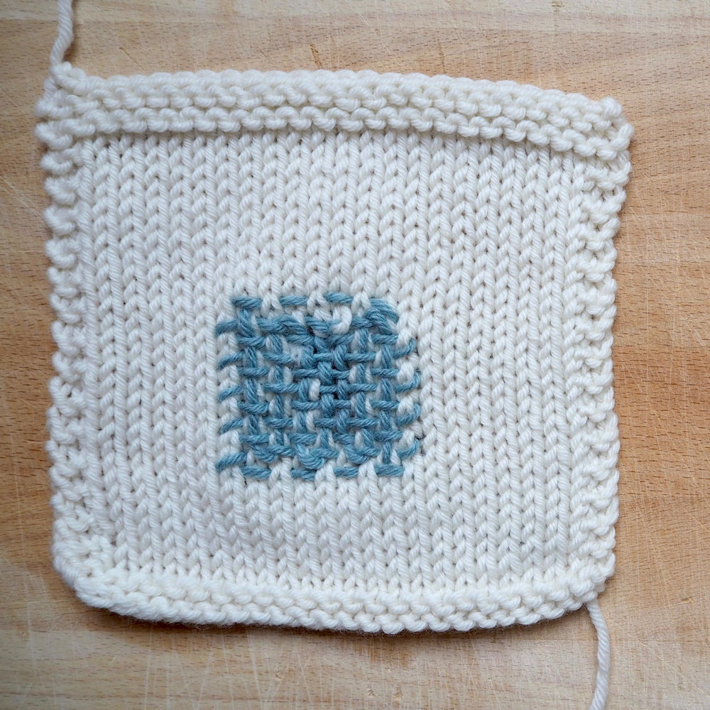 Mending knits: 3 favourite darns — worn values