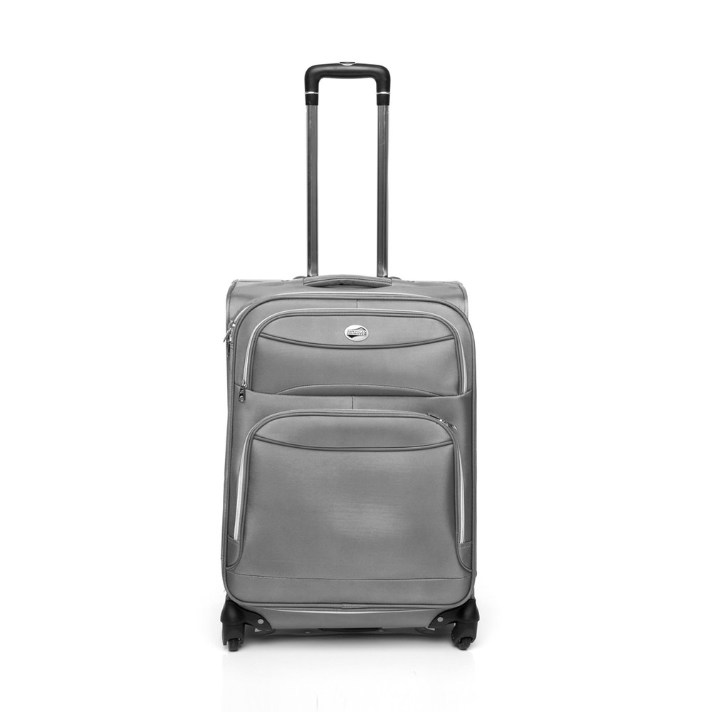 Gray American Tourister suitcase