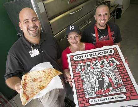 Ocala Start Banner: Extra Helpings - Pizza! Dina's Finds Her Place in the Shore