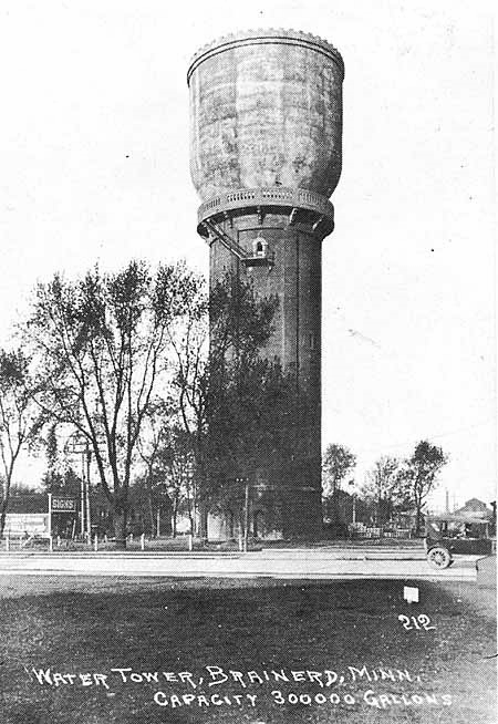 Brainerd Water Tower, MN