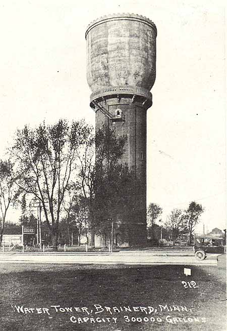 Brainerd Water Tower Historic Structure Report