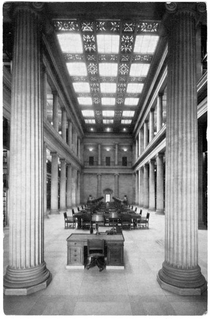 Reading room, James J. Hill Library, St. Paul. MR2.9 SP8 r200 (Locator Number SV).jpg