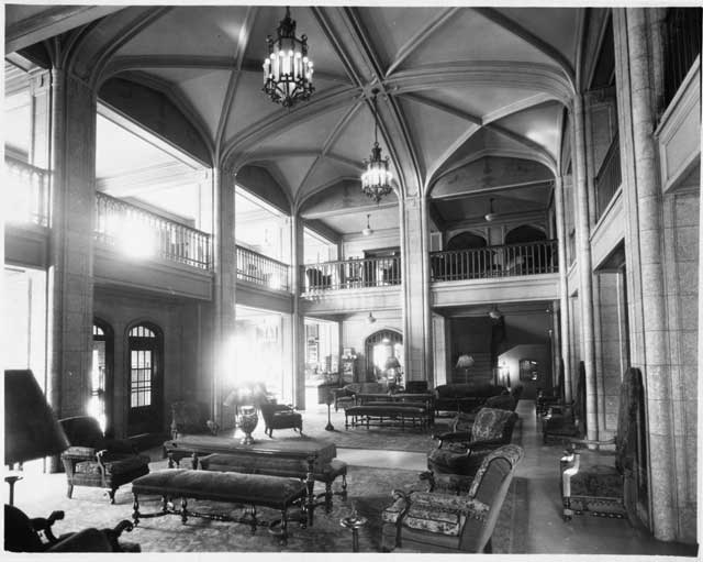 The Kahler Hotel Lobby, 1955.jpg