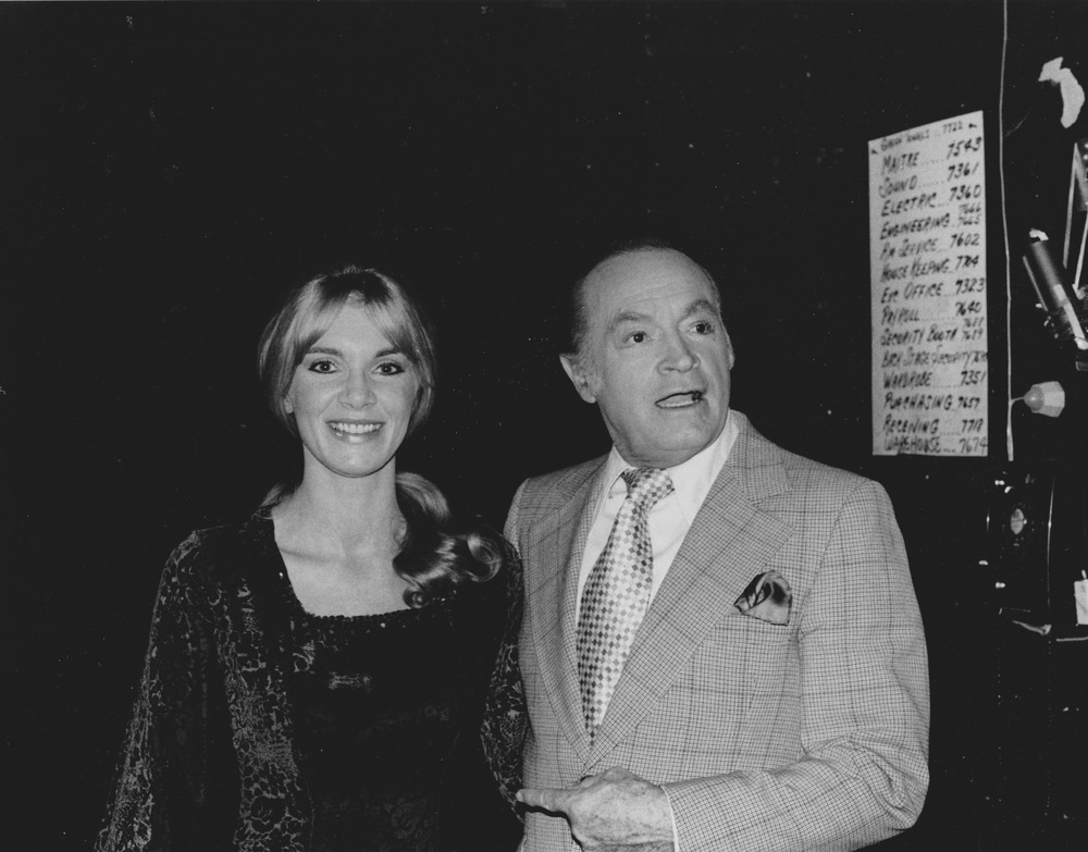 1977 with Bob Hope