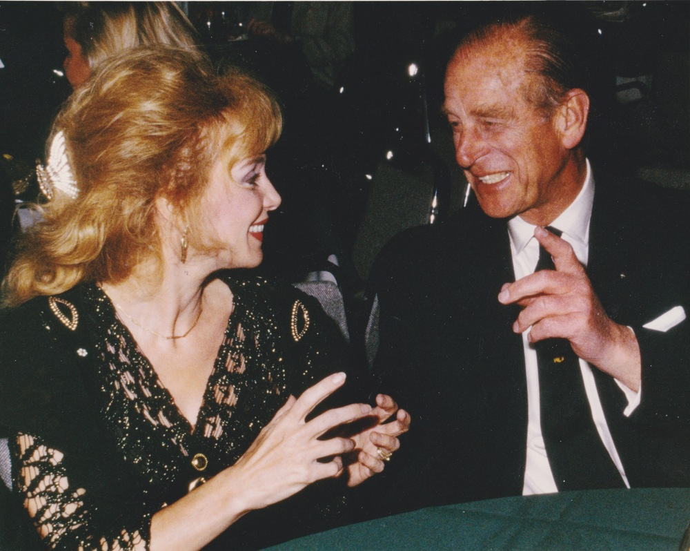 1996 with Prince Phillip