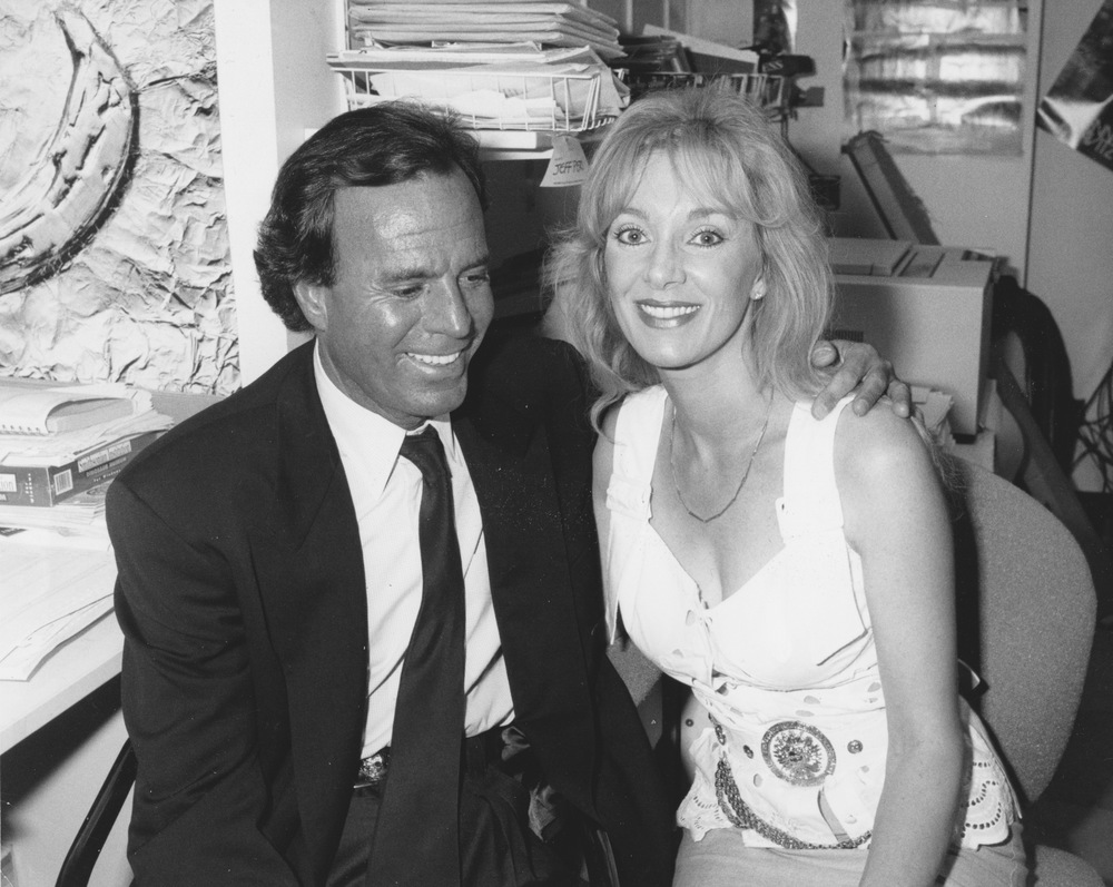 1995 with Julio Iglesias