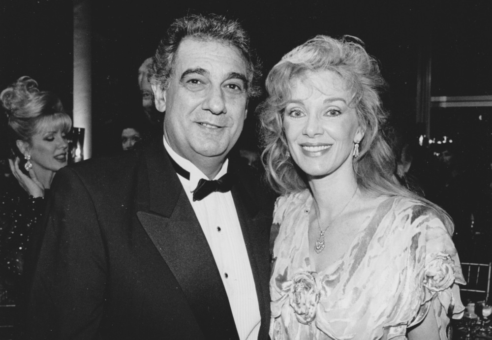 1995 with Placido Domingo