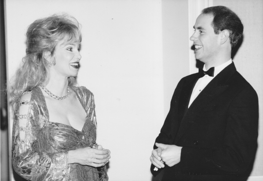 1995 with Prince Edward