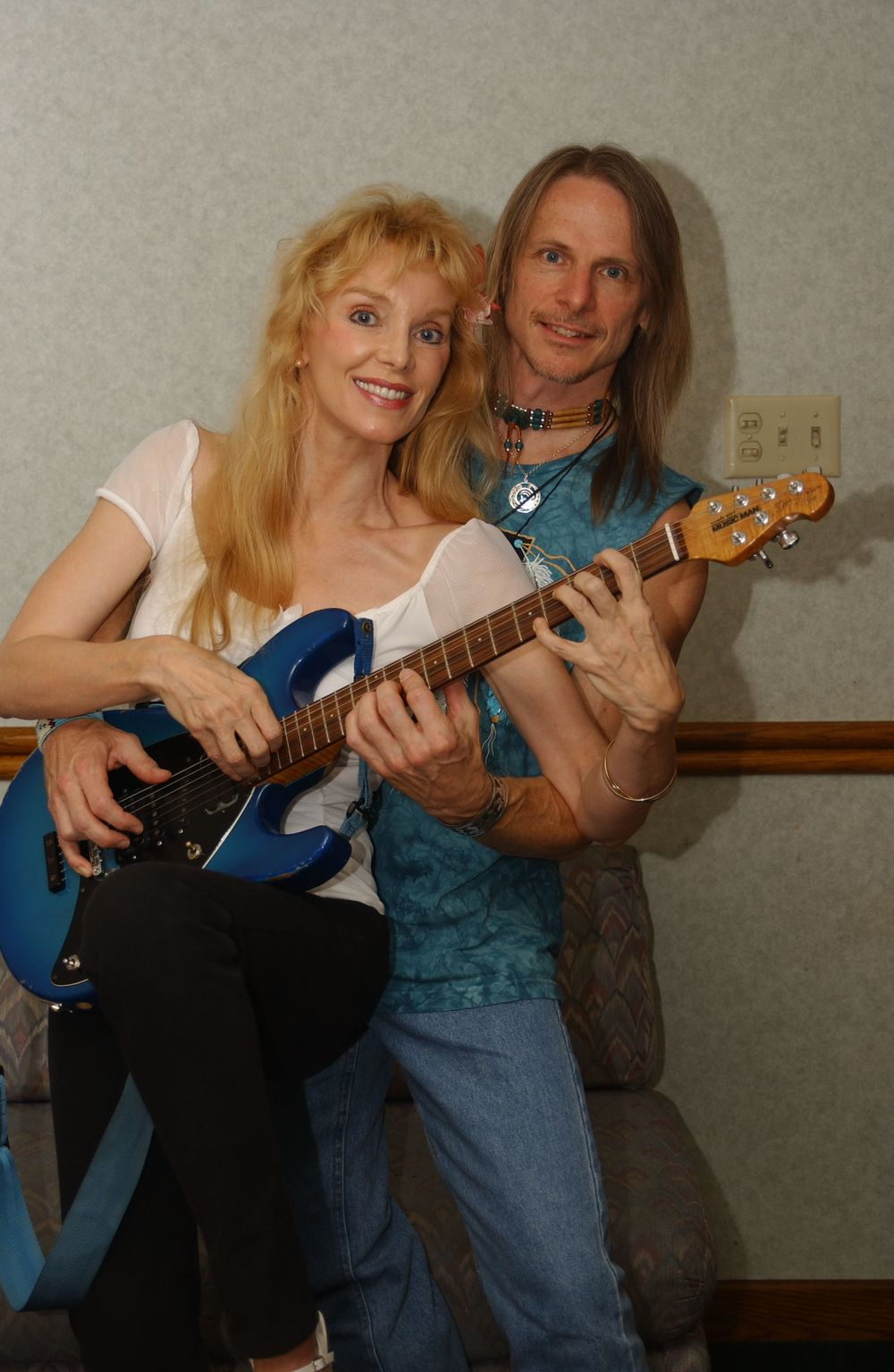 2002 with Steve Morse