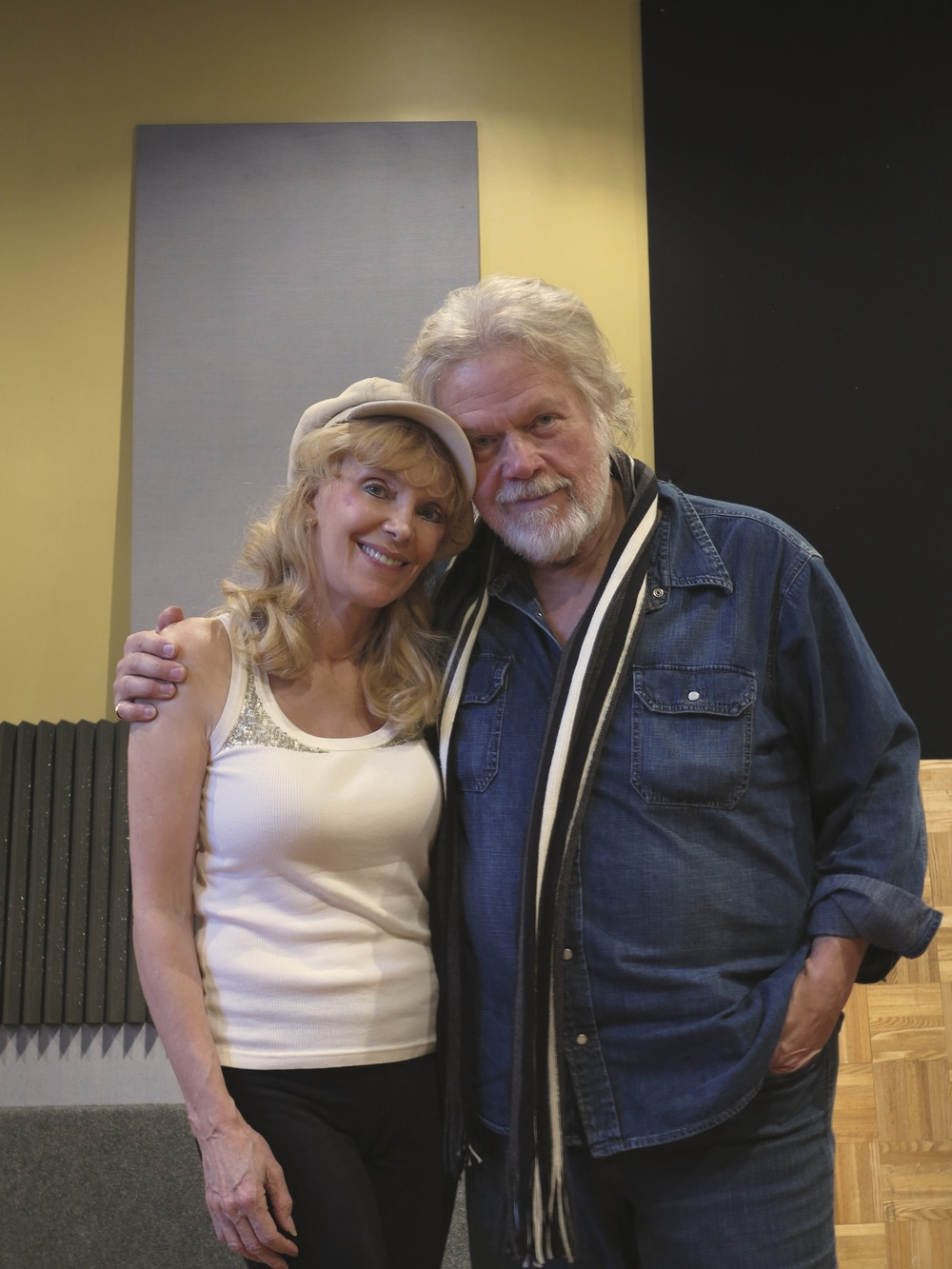 "2013 with Randy Bachman, during recording sessions for ""The Return…"""