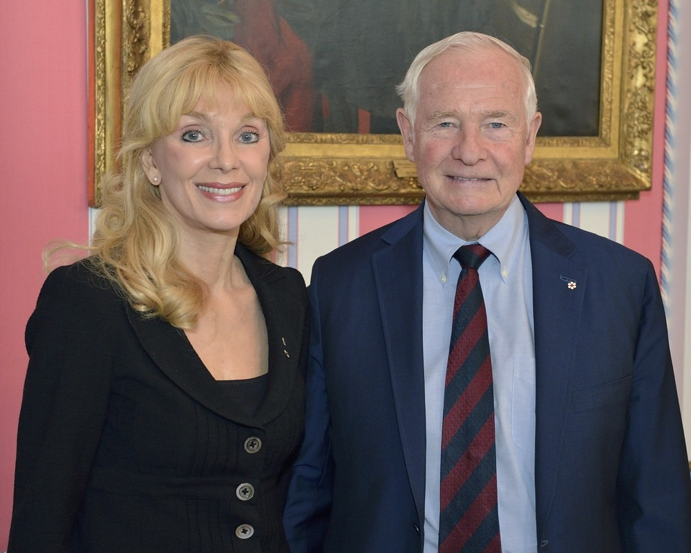 2014 with Governor General David Johnston