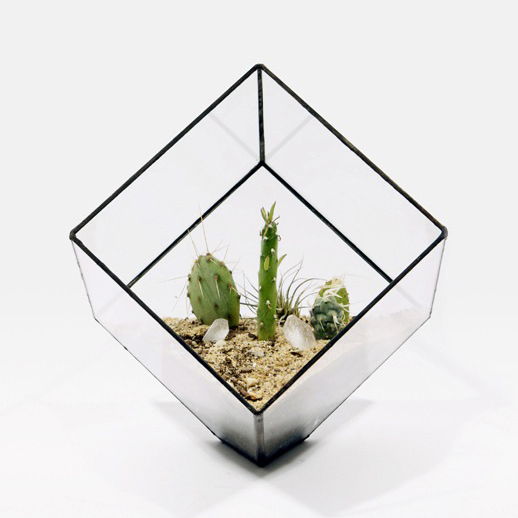 Large Cube Planter by Sore + Solder