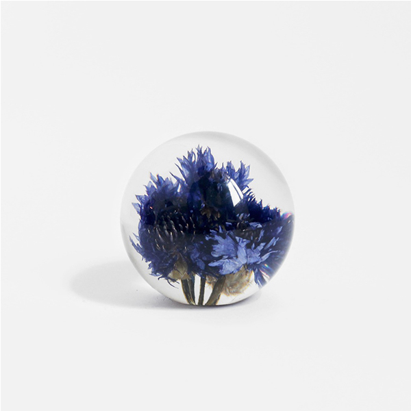 Cornflower Paperweight  by Haford Grange