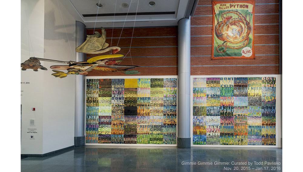 Weston Art Gallery/Aronoff Center   650 Walnut St. Cincinnati OH 45202  Free admission