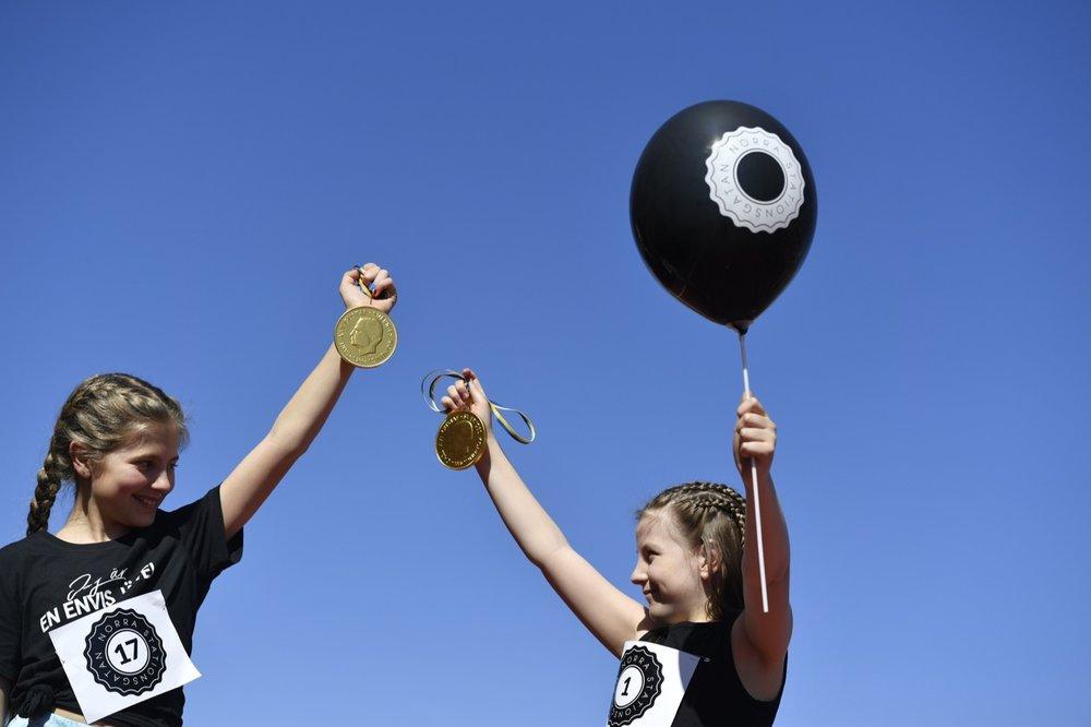Barnen är de stora vinnarna på Kids Top Floor Run hos SATS Torsplan.