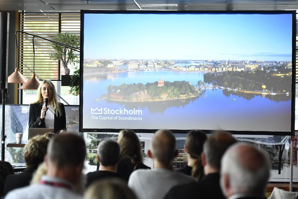 Anna Gissler , Tf VD Stockholm Business Region