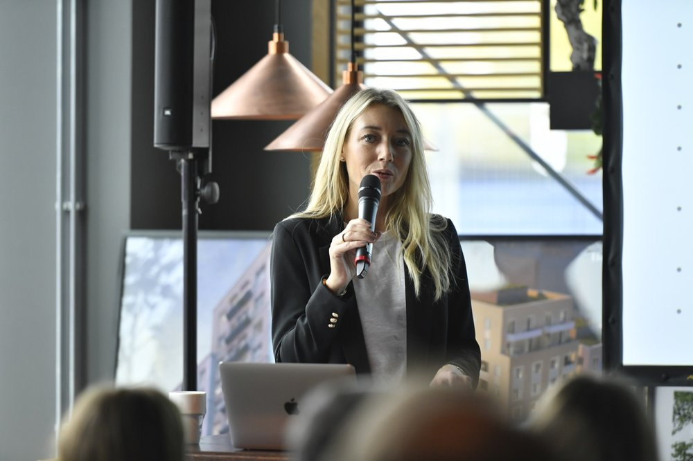 Anna Gissler,  Tf VD Stockholm Business Region