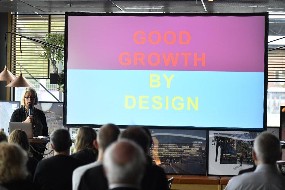 Monica Von Shmalensee , Arkitekt SAR/MSA Ordförande rådet för Hållbara städer Tidigare VD White Arkitekter
