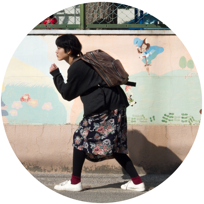 As a photographer & translator, Rina Nakano'scommute is always different taking students all around Beppu Japan visiting museums to her favorite inspirational spots.