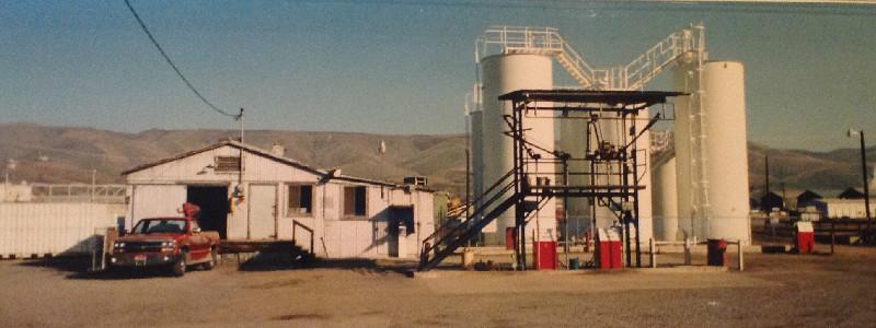Coleman Oil's Lewiston bulk plant, 1984.