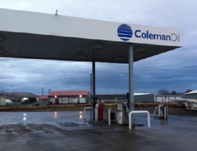 Coleman Oil site in Clarkston, WA.