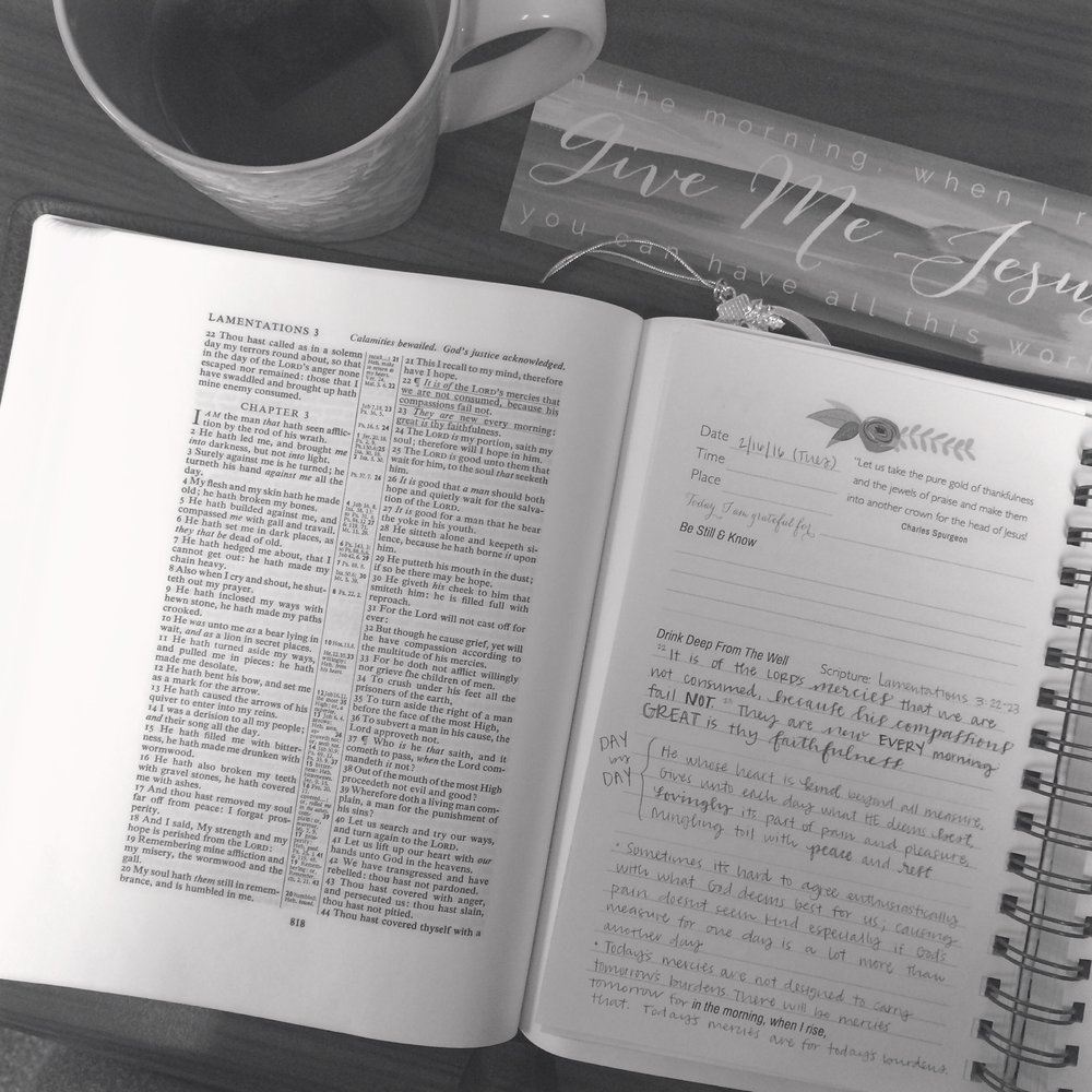 Give Me Jesus Journal and Bookmark:  Life Lived Beautifully