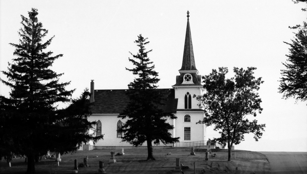 Ernie was the 4th generation of his family to attend Springdale Lutheran Church in Dane County, Wisconsin. The congregation was organized in 1852 by Norwegian immigrants and the church was built in 1861.