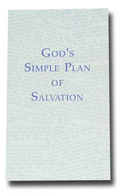 photo about Simple Plan of Salvation Printable titled Tracts, Booklets Textbooks The Ministry of Ernest B. Rockstad