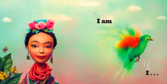 Ilustración del libro Viva Frida