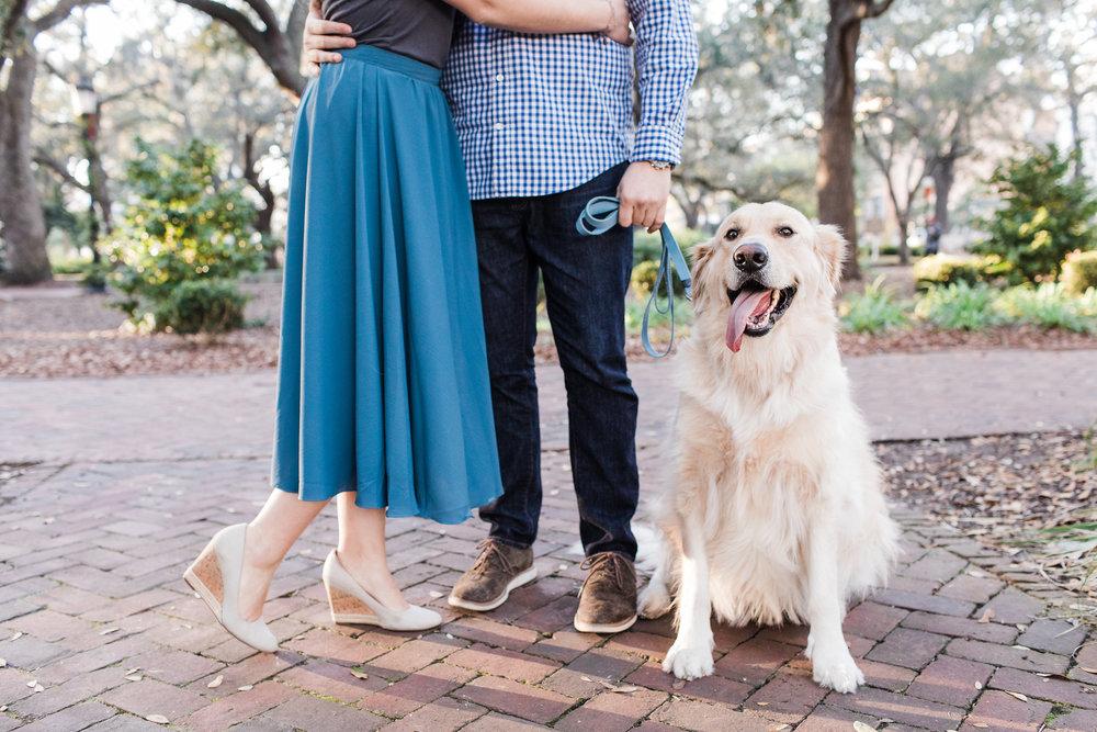Sara + David | Savannah Engagement Shoot | Savannah Engagement Photographer | Apt. B Photography
