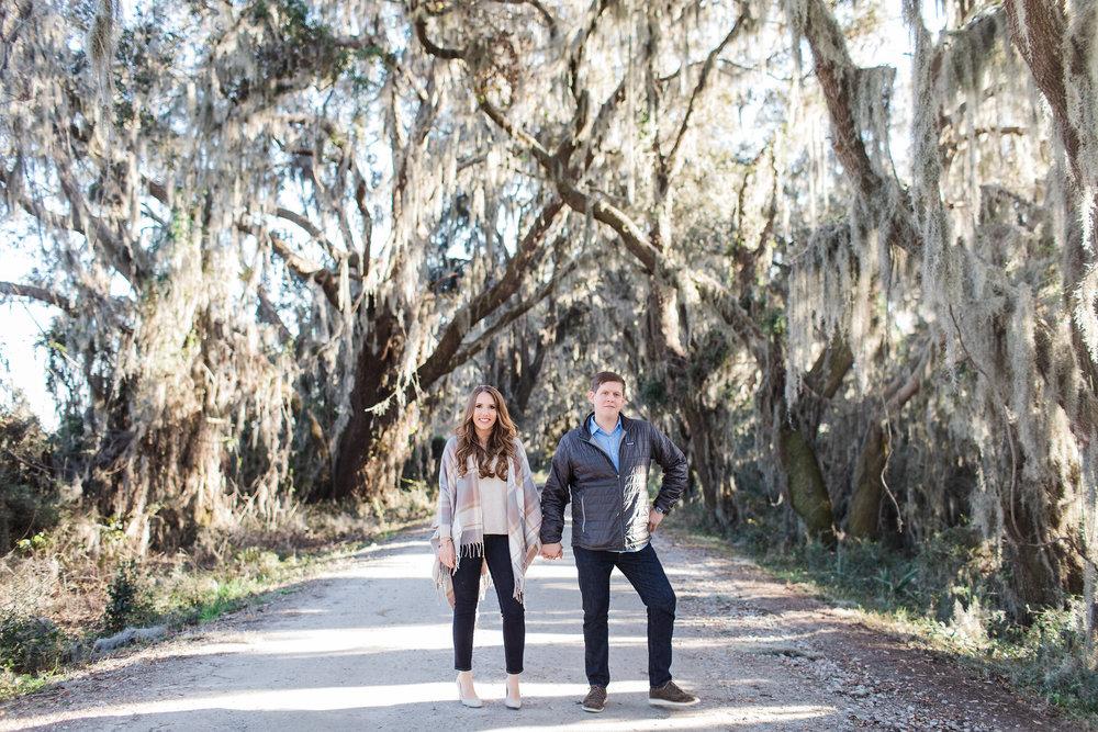 Sara + David | Savannah National Wildlife Refuge Engagement Shoot | Savannah Engagement Photographer | Apt. B Photography