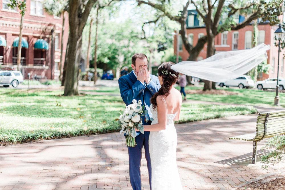Michelle + Scott - Intimate Savannah Wedding at Soho South Cafe | Apt. B Photography