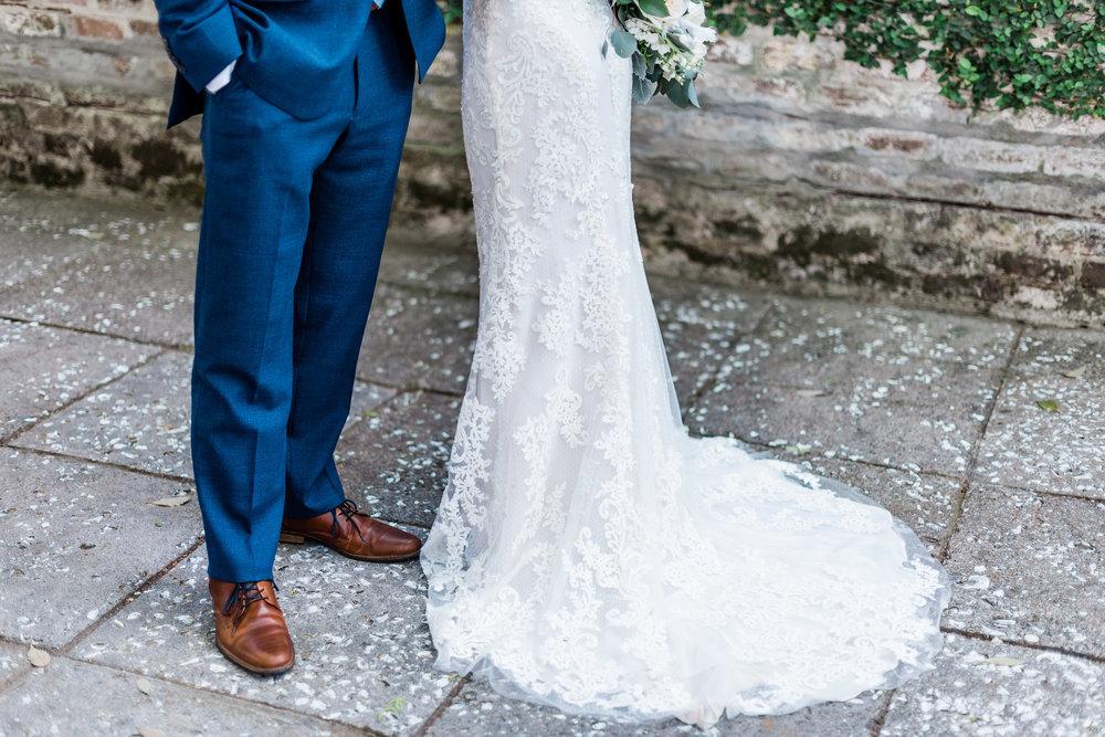 Michelle + Scott - Intimate Savannah Wedding  | Apt. B Photography