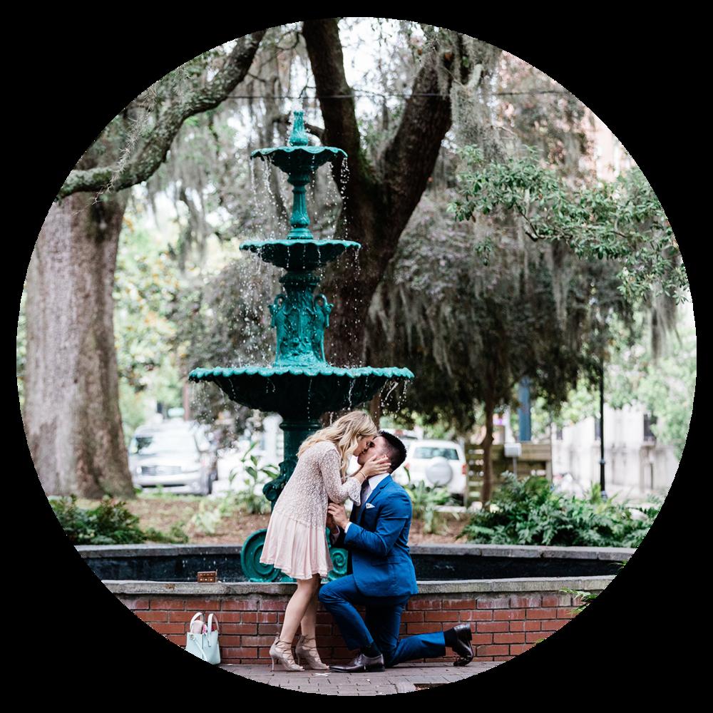 Apt. B Photography - Savannah proposal photographer, surprise proposal photographer