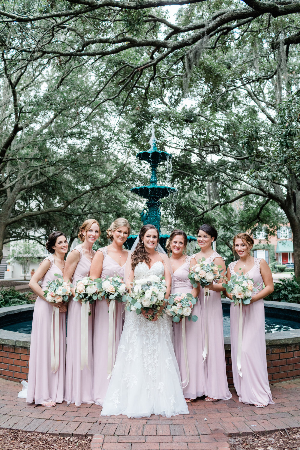 Danielle + Paul's Lafayette Square Wedding, Historic Savannah Wedding | Savannah Wedding Photographer | Apt. B Photography