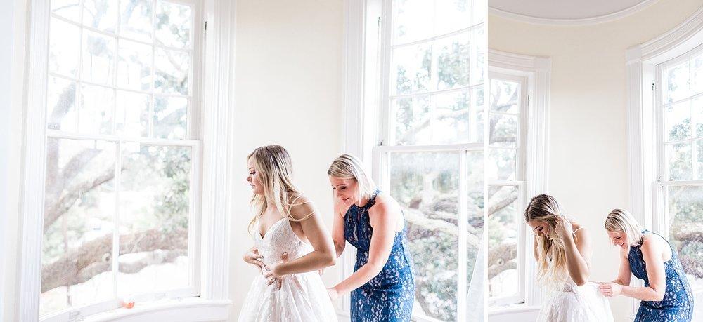 Maddy and Jon's Savannah Wedding - Getting Ready | Apt. B Photography