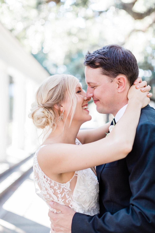 First look in Forsyth Park – Apt. B Photography | Savannah Wedding Photographer