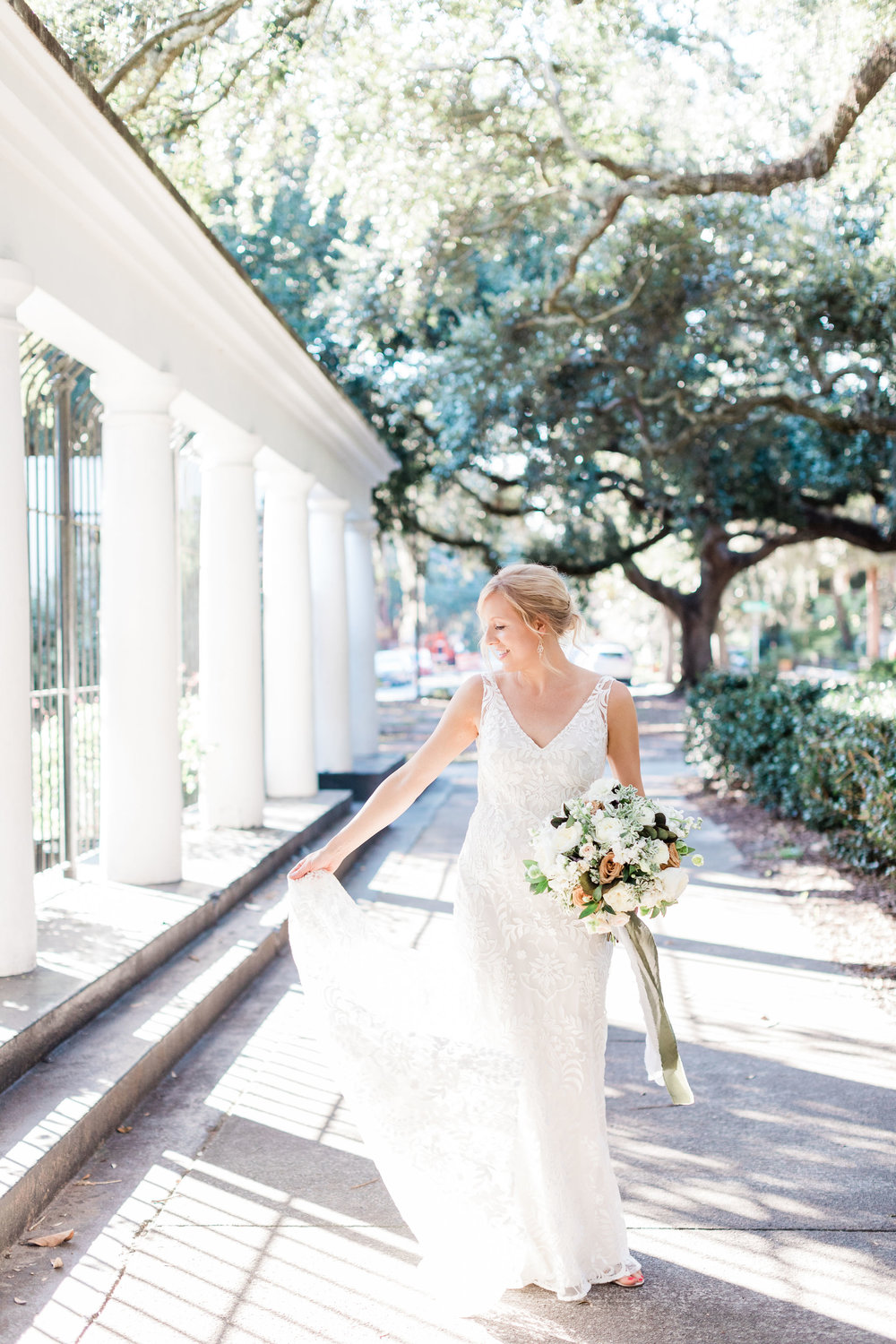 Bride in Willowby by Waters – Apt. B Photography | Savannah Wedding Photographer