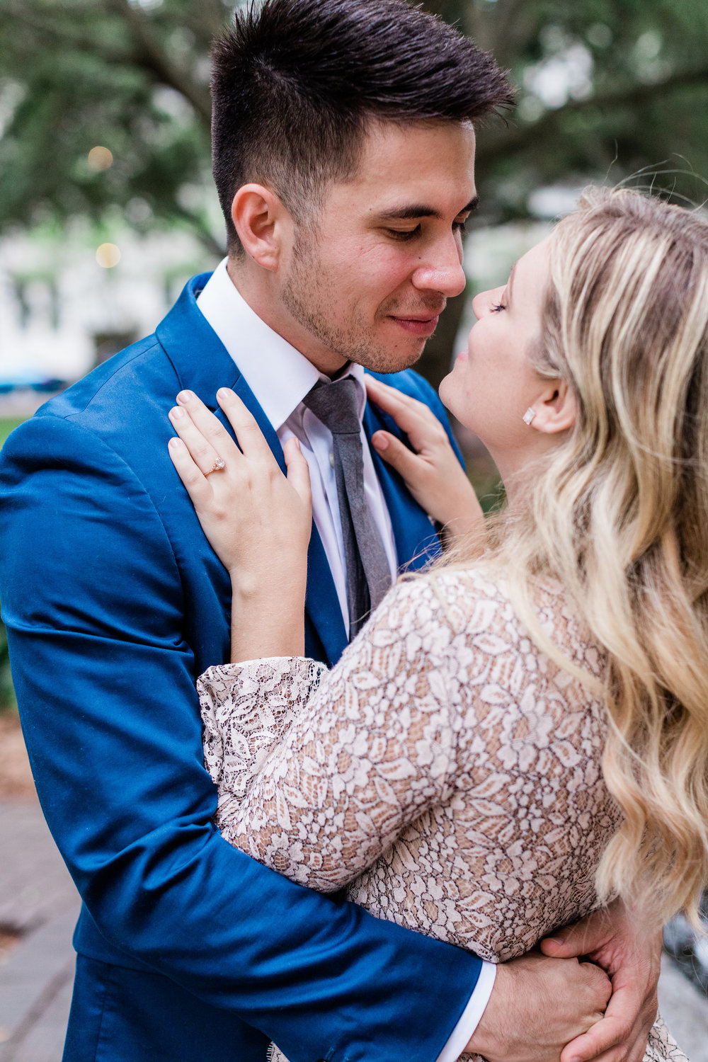 Peter and Sam's Surprise Proposal - Lafayette Square | Apt. B Photography