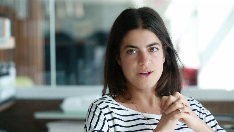 Leandra Medine van Man Repeller: van humoristische uitlaatklep tot  big fashion business. Foto: fastcompany.com