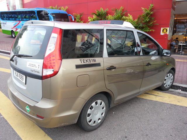 taxi mirror