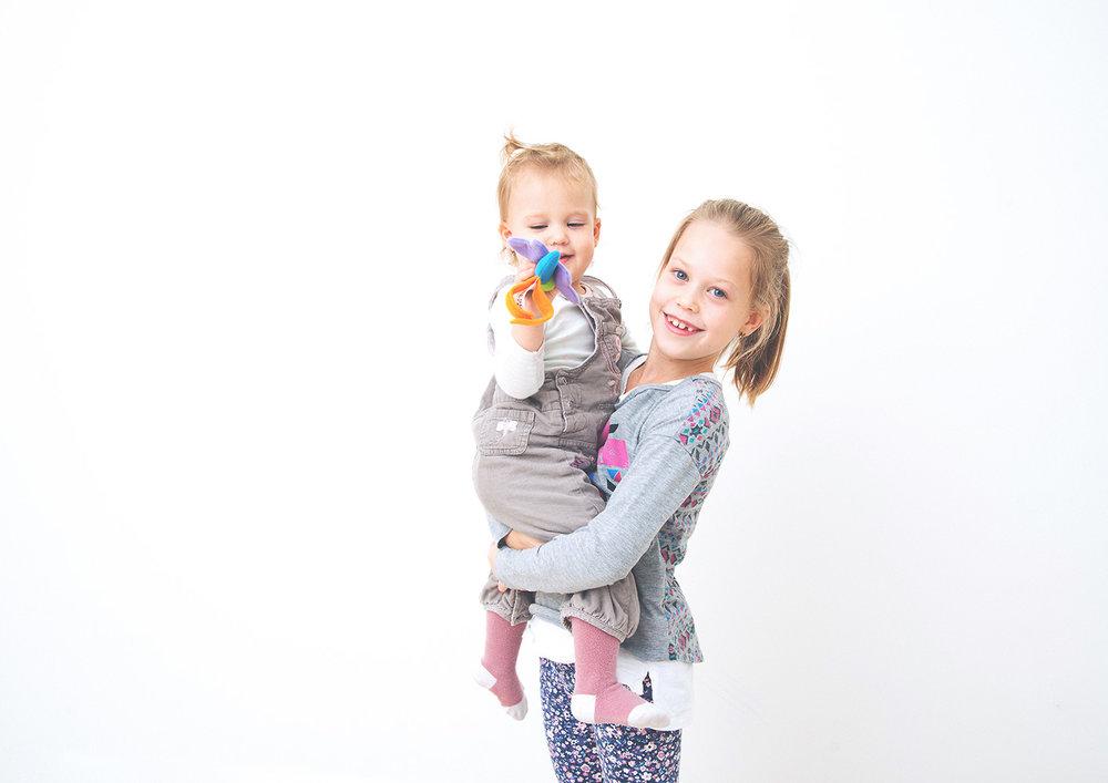 családi fotózás negy lannyal 5