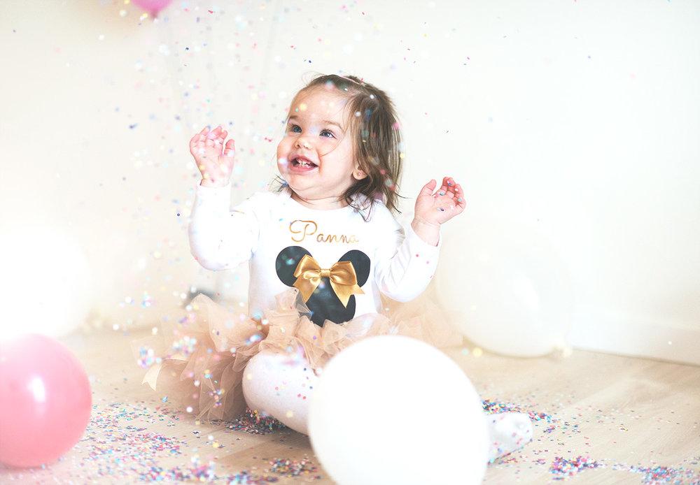 gyerekfotozas konfettivel